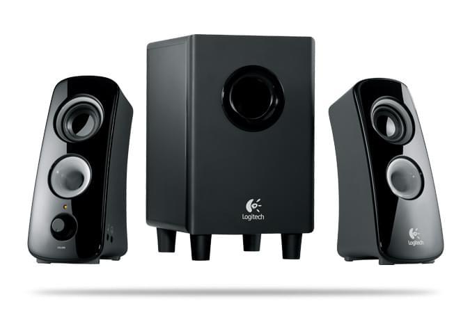 Logitech Speaker System Z323 2HP+Caisson - Enceinte pour PC - Jack/RCA - 0