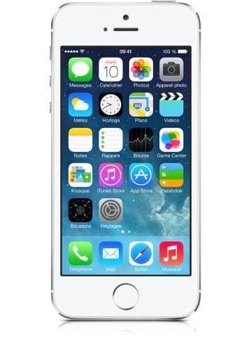 Apple iPhone 5S 16Go Argent (Blanc) (ME433F/A) - Achat / Vente Téléphonie sur Cybertek.fr - 0