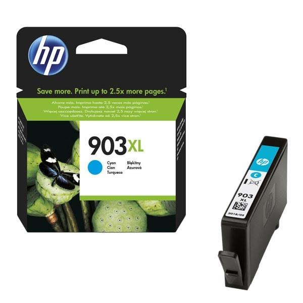 Cartouche Cyan rendement élevé 903XL - T6M03AE pour imprimante  HP - 0