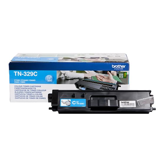 Toner Cyan TN-329C 6000p. pour imprimante Laser Brother - 0