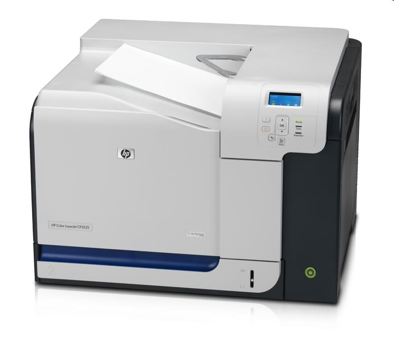 HP Color LaserJet CP3525N (CC469A#BAN) - Achat / Vente Imprimante sur Cybertek.fr - 0
