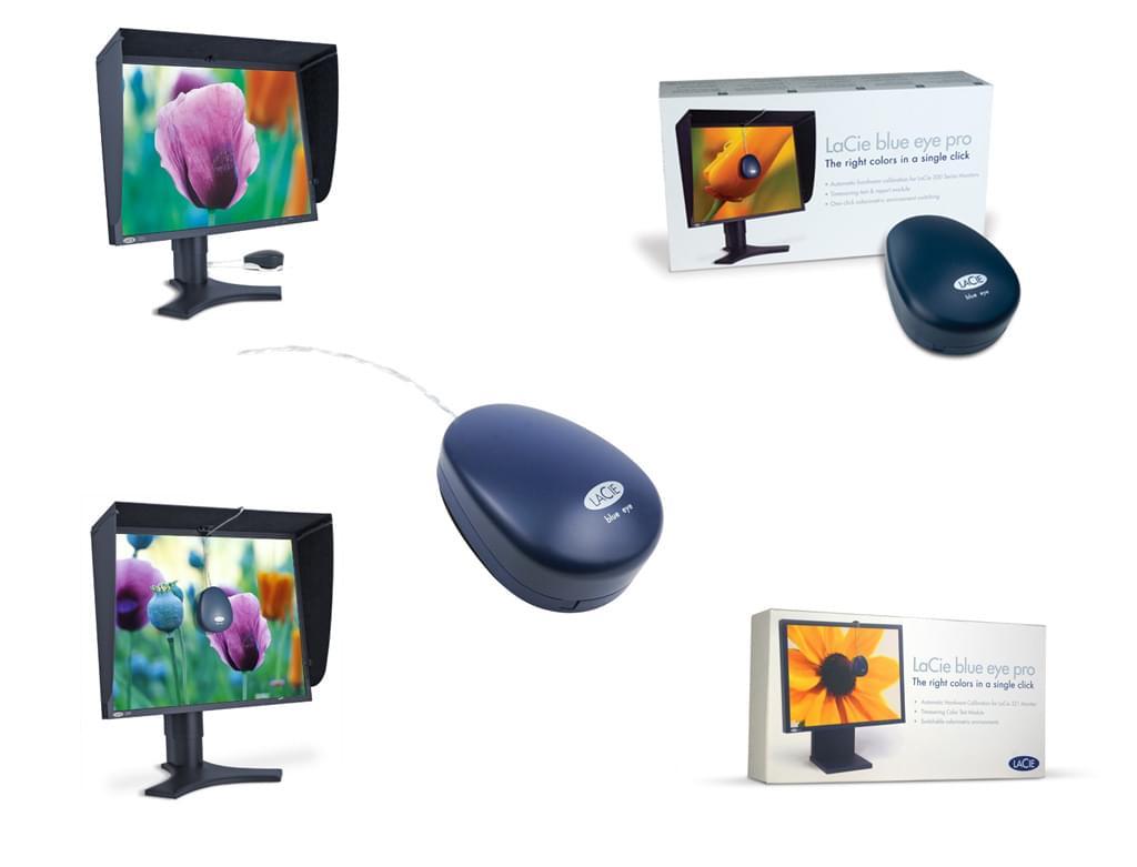 LaCie Calibrateur Blue Eye Pro (130767) - Achat / Vente Accessoire Ecran sur Cybertek.fr - 0