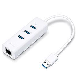 image produit TP-Link Adaptateur réseau RJ45 gigabit Ethernet/USB3.0  Cybertek