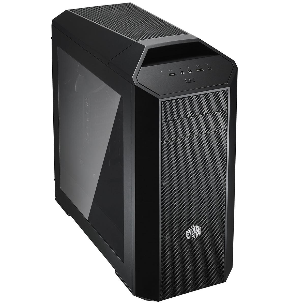 Cooler Master GT/Sans Alim/ATX Noir - Boîtier PC Cooler Master - 0