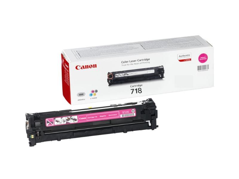 Canon Toner 718 Magenta 3000p (2660B002) - Achat / Vente Consommable Imprimante sur Cybertek.fr - 0