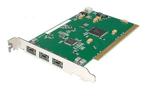 PCI-X 2 ports Firewire 800 + 1 port 400 - Carte contrôleur - 0