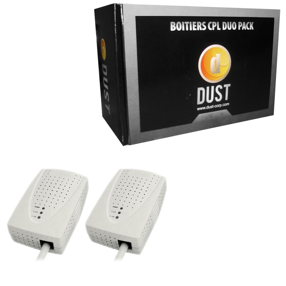 DUST CPL-200D (200Mb) Pack de 2 (Soldé) - Achat / Vente Adaptateur CPL sur Cybertek.fr - 0