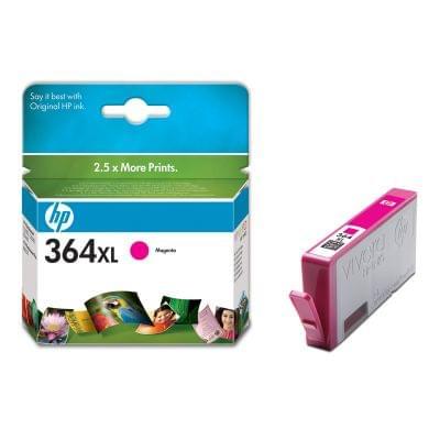 Cartouche Magenta HP 364XL - CB324EE pour imprimante Jet d'encre HP - 0