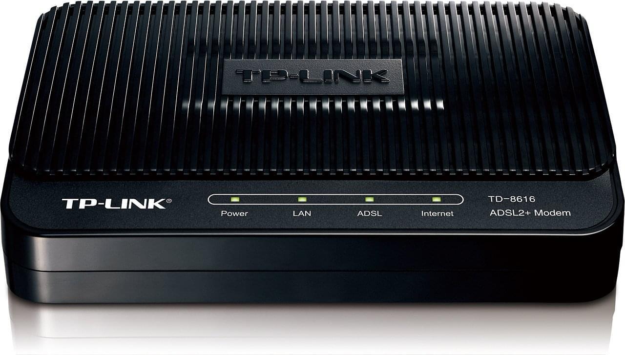 TP-Link TD-8616 - Modem Ethernet ADSL2/2+ - Modem TP-Link - 0