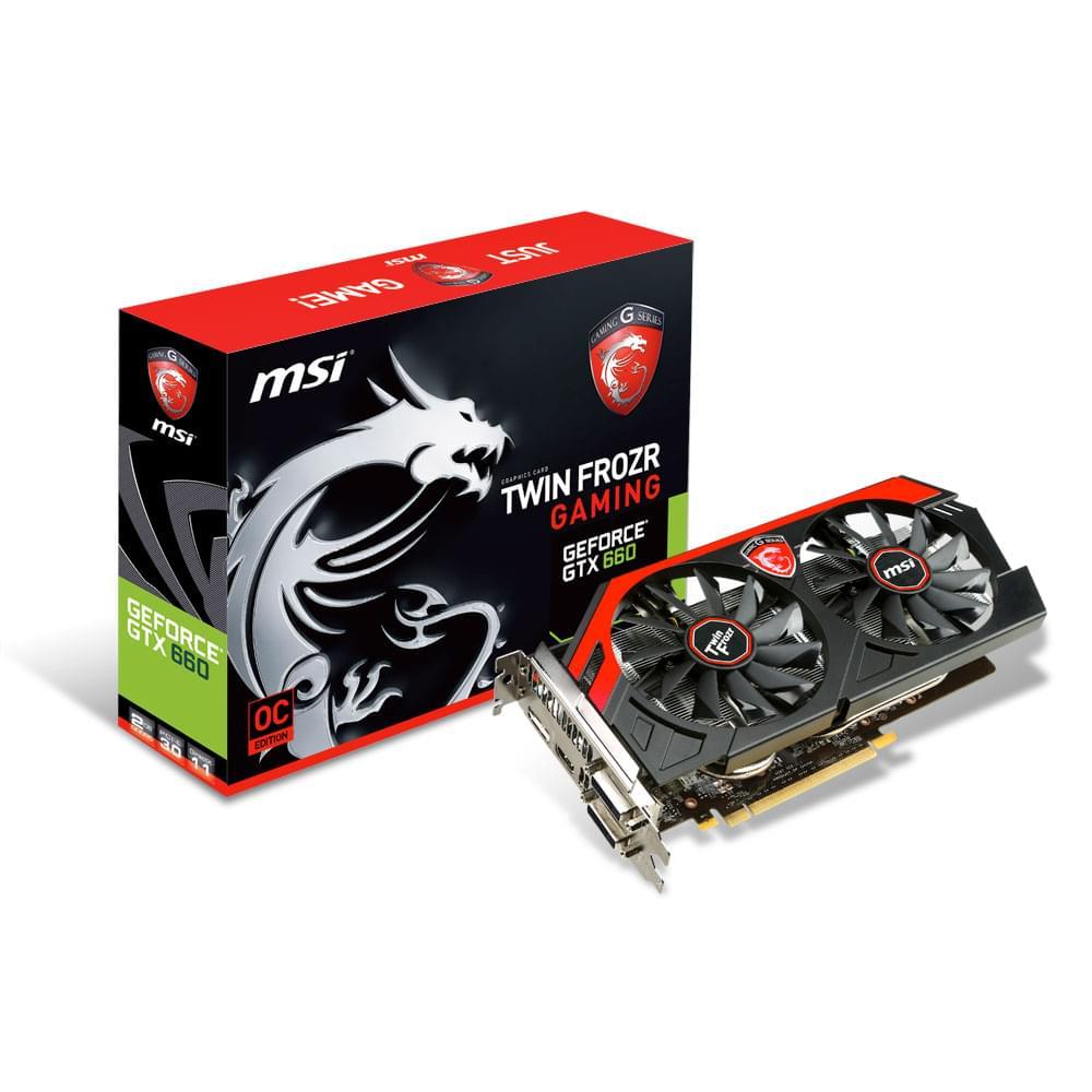 MSI N660 GAMING 2GD5/OC (N660 GAMING 2GD5/OC) - Achat / Vente Carte Graphique sur Cybertek.fr - 0