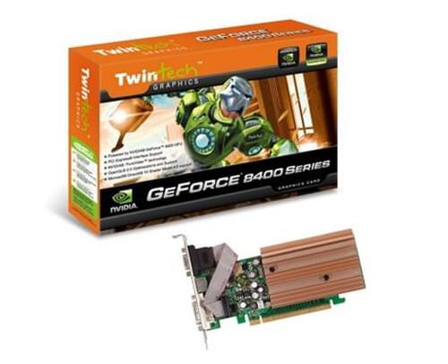 NVidia GF 8400GS (PV-T86S-WANG) - Achat / Vente Carte Graphique sur Cybertek.fr - 0