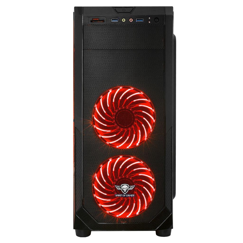 S.O.G ROGUE I RED Noir - Boîtier PC S.O.G - Cybertek.fr - 4