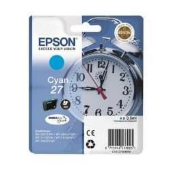 Cartouche 27 Cyan - T2702 pour imprimante Jet d'encre Epson - 0