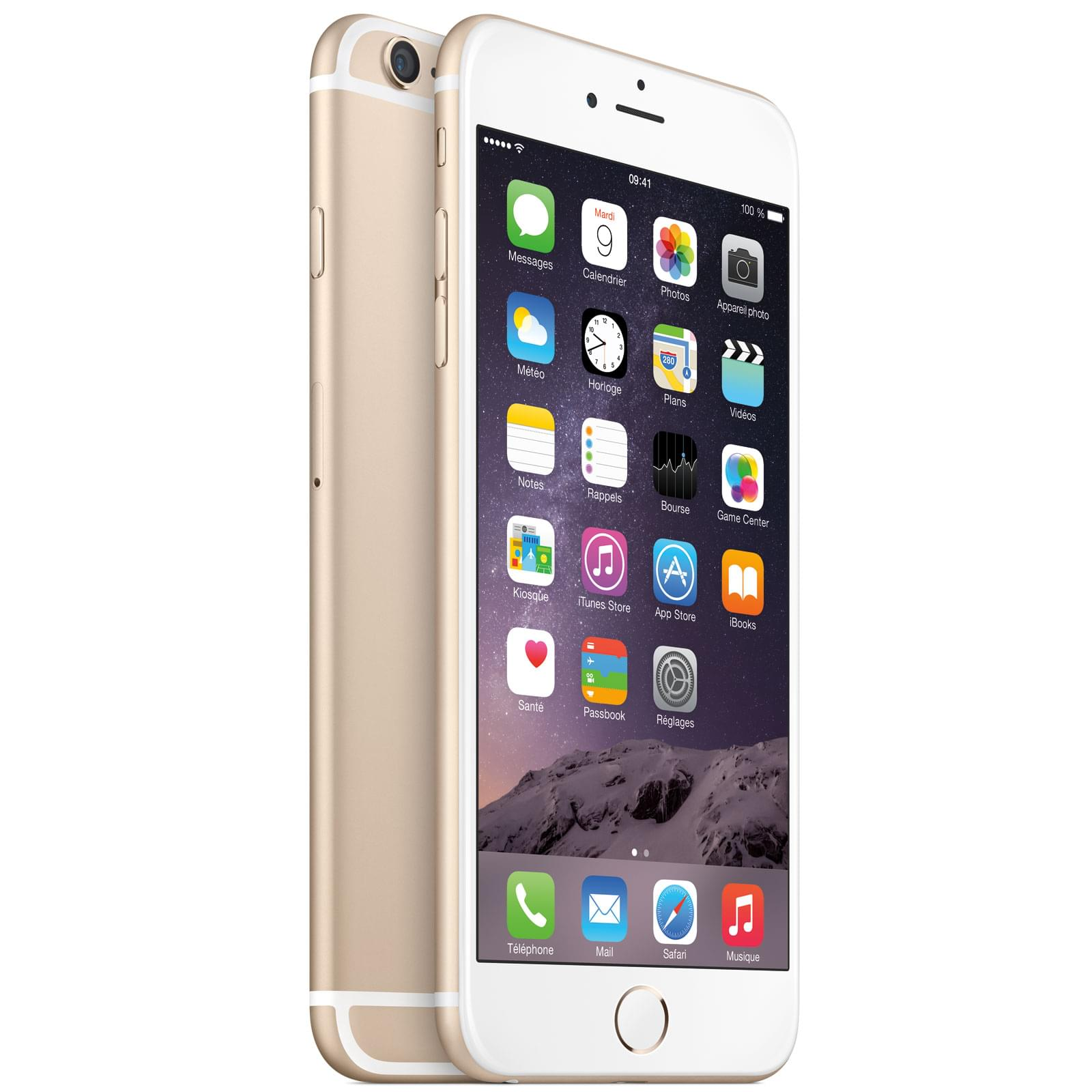 Apple iPhone 6 Plus 16Go Or (MGAA2ZD/A) - Achat / Vente Mobile et Smartphone sur Cybertek.fr - 0