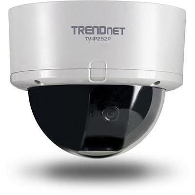 TrendNet TV-IP252P + Dôme exterieur - (PoE SecurView) - 0