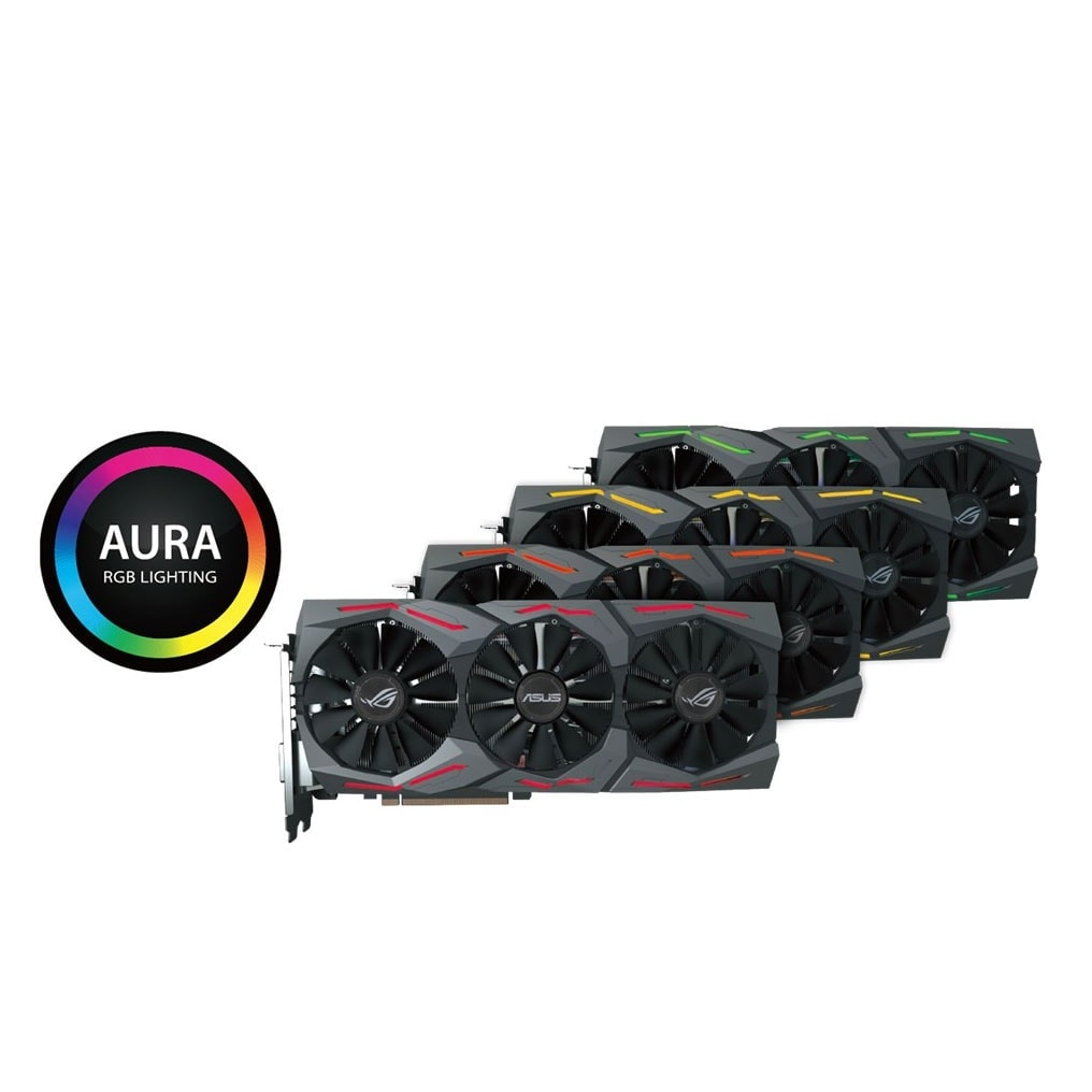 Asus STRIX-GTX1080-A8G-GAMING 8Go - Carte graphique Asus - 3
