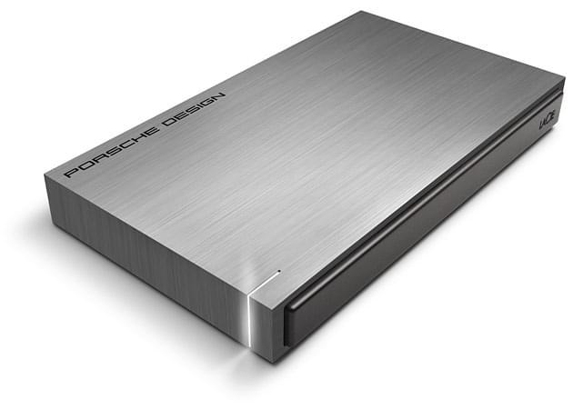 """LaCie 1To 2""""1/2 USB3 Mobile Porsche Design (302000) - Achat / Vente Disque dur externe sur Cybertek.fr - 0"""