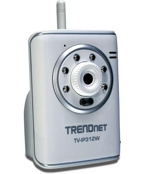 TrendNet TV-IP312W (caméra IP RJ45/Wifi) (TV-IP312W) - Achat / Vente Caméra / Webcam sur Cybertek.fr - 0