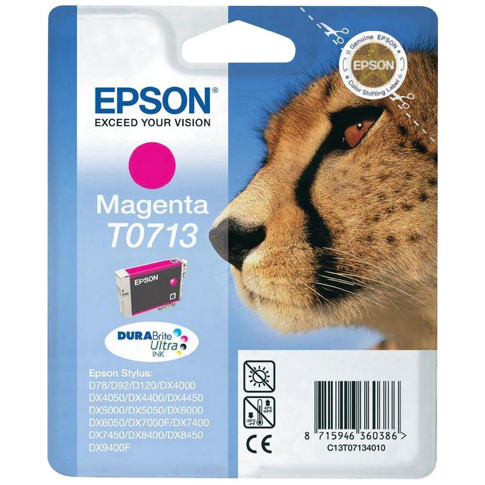 Cartouche DURABrite T0713 Magenta pour imprimante Jet d'encre Epson - 0