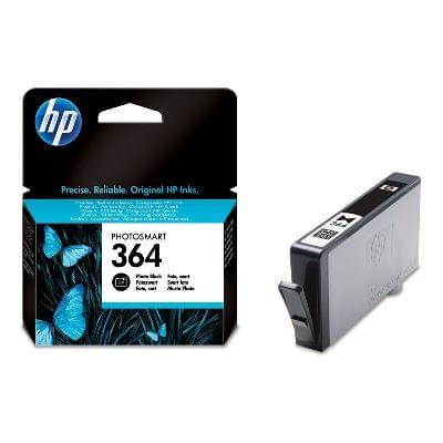 Cartouche Photo Noire HP 364 - CB317EE  pour imprimante Jet d'encre HP - 0