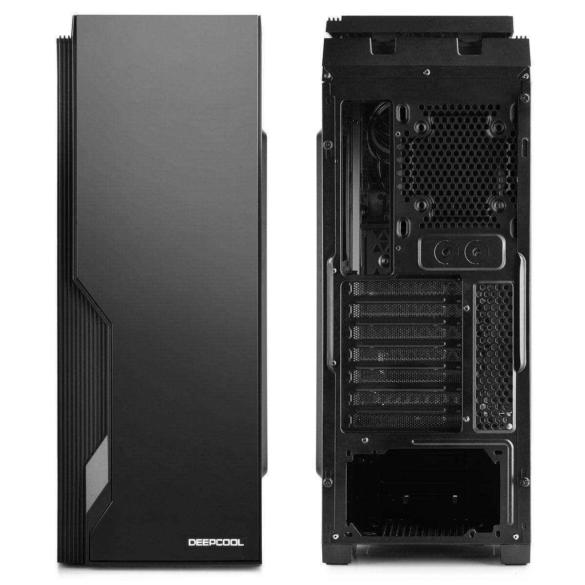Deepcool DUKASE V2 Noir - mt/Ss Alim/ATX (DUKASE BKV2) - Achat / Vente Boîtier PC sur Cybertek.fr - 4