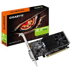 image produit Gigabyte GT 1030 Low Profile D4 2G - GT1030/2Go/DVI/HDMI Cybertek