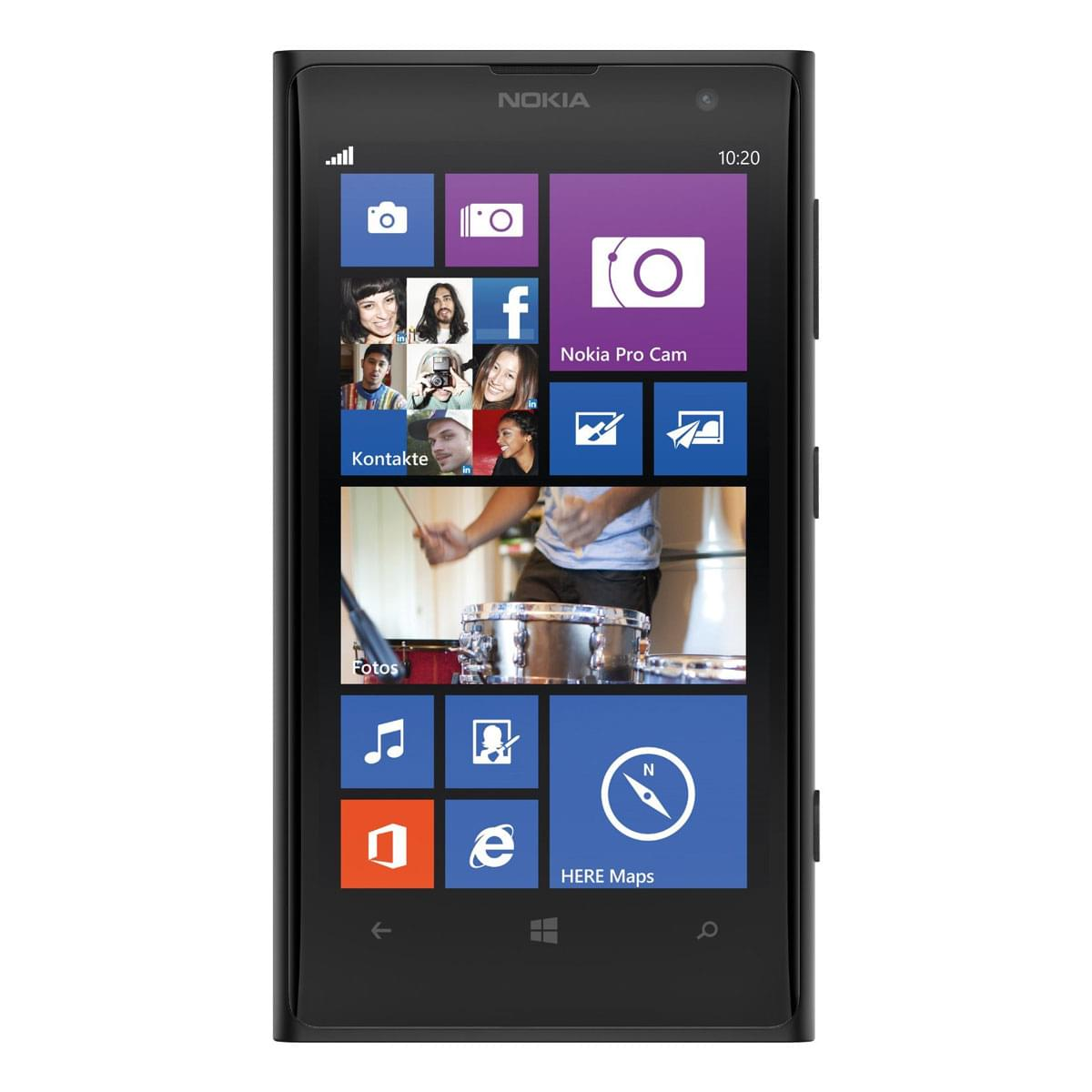 Nokia Lumia 1020 Noir (A00013895) - Achat / Vente Téléphonie sur Cybertek.fr - 0