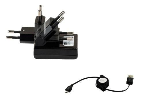 T'nB Chargeur secteur + câble micro-USB rétractable (CHBBHOME1) - Achat / Vente Accessoire Téléphonie sur Cybertek.fr - 0