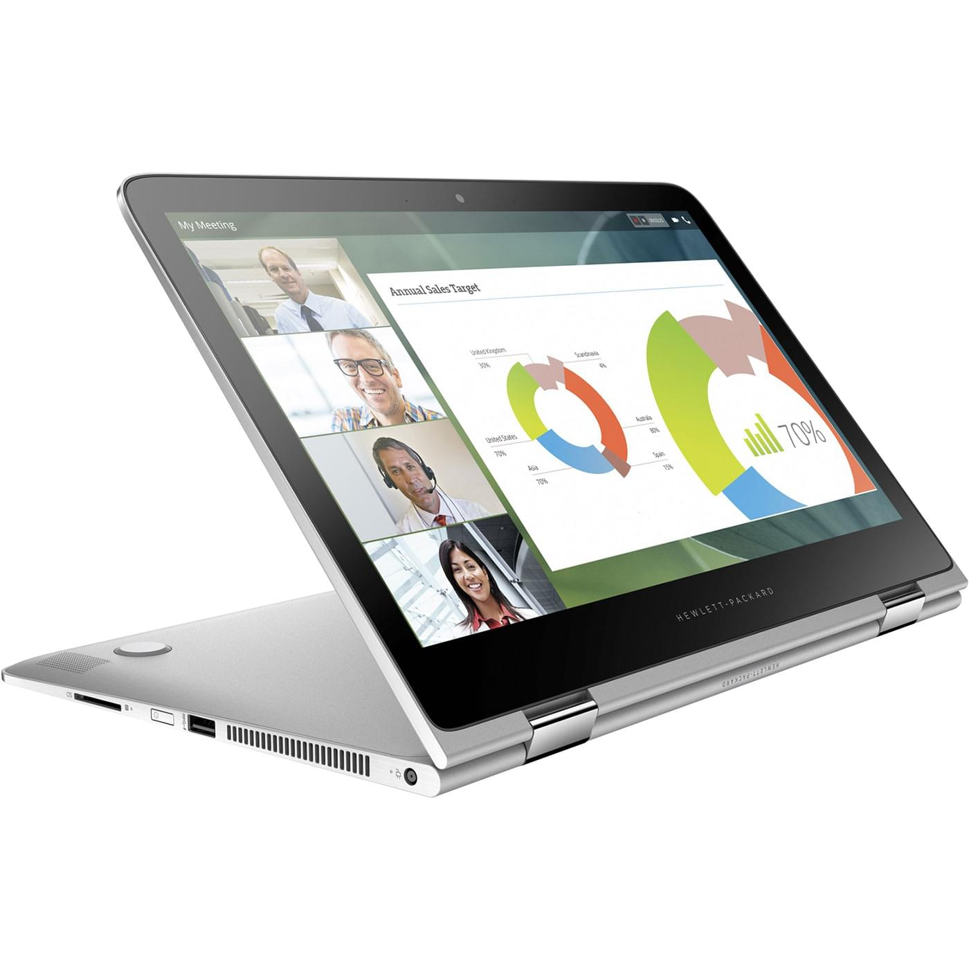 HP Spectre Pro x360 G2 (V1B01EA#ABF) - Achat / Vente PC Portable sur Cybertek.fr - 0