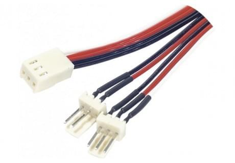 Doubleur Alimentation pour ventilateur 3 pins - Connectique PC - 0
