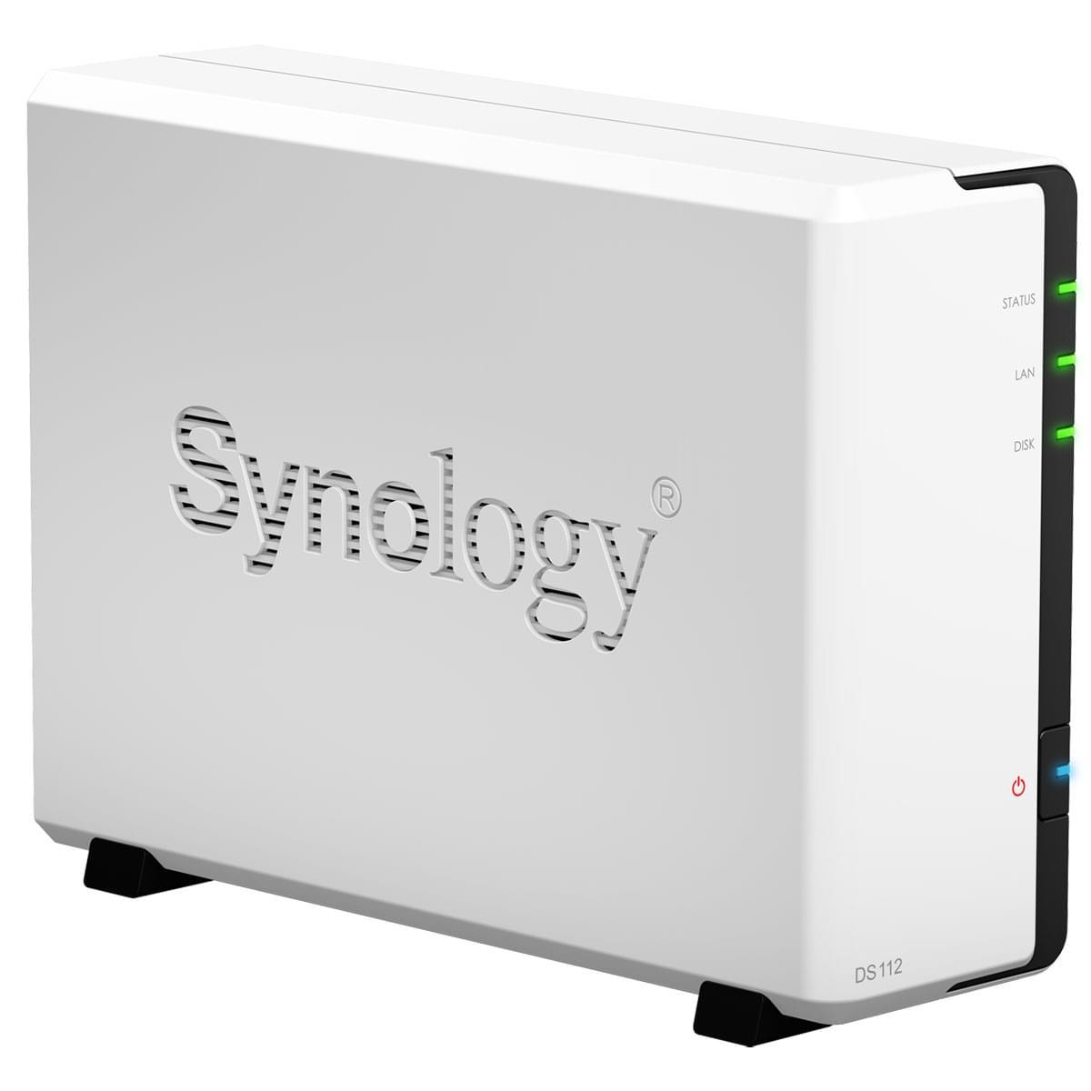 Synology NAS RJ45 (DS112) - Achat / Vente Boîtier externe sur Cybertek.fr - 0