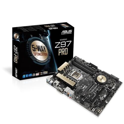 Asus Z97-PRO (Z97-PRO) - Achat / Vente Carte Mère sur Cybertek.fr - 0