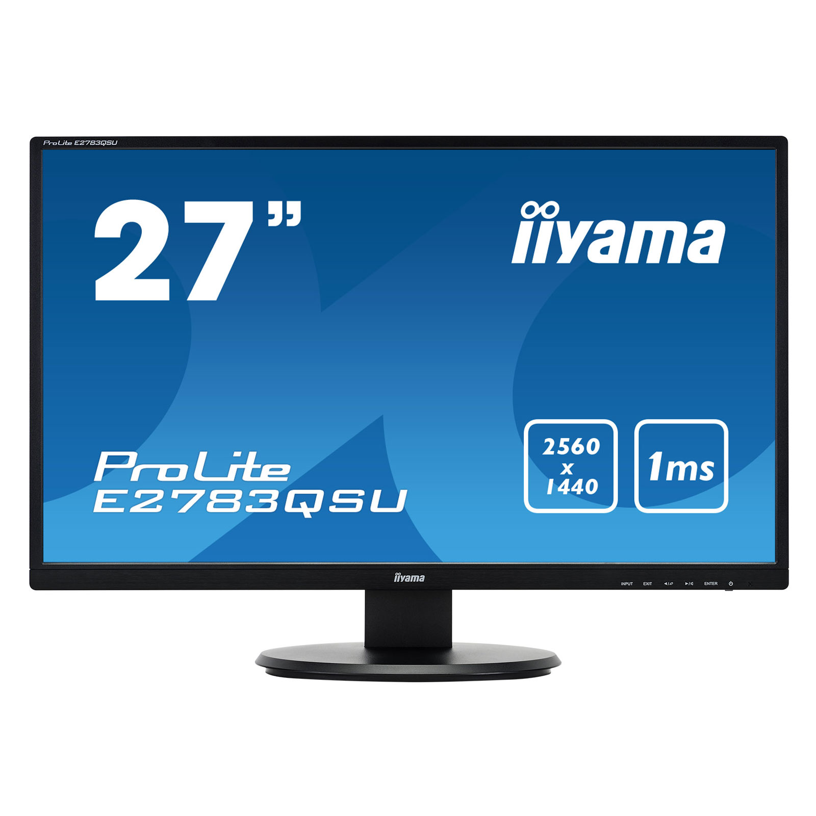 "Iiyama 27""  E2783QSU-B1 - Ecran PC Iiyama - Cybertek.fr - 0"