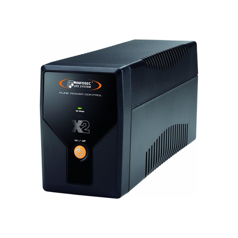 Infosec X2 700VA (65231) - Achat / Vente Onduleur - Multiprises sur Cybertek.fr - 0