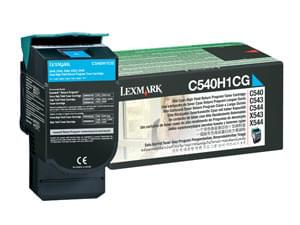 Consommable imprimante Lexmark Toner Cyan 2000p - C540H1CG