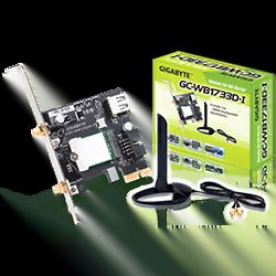image produit Gigabyte PCI-E BT5/WiFi AC - GC-WB1733D-I Cybertek