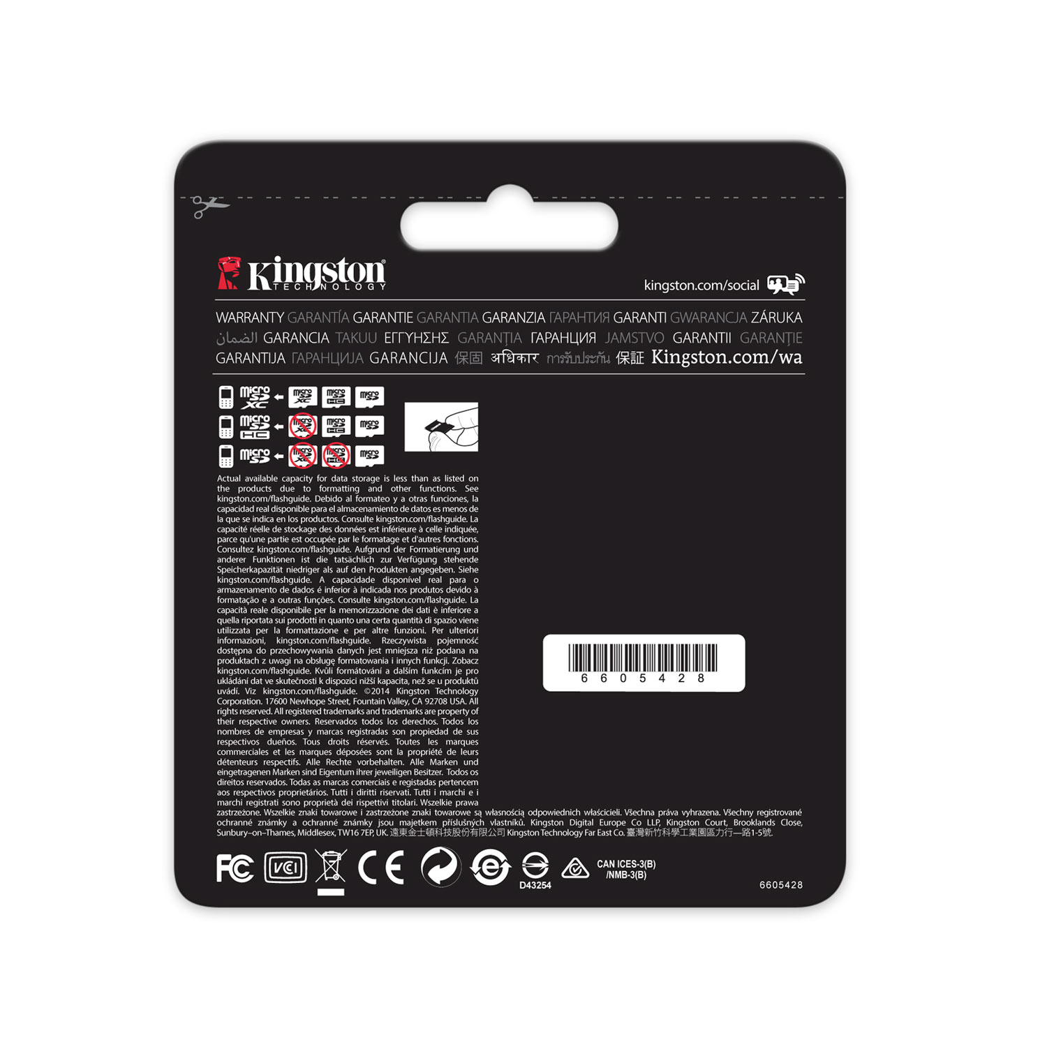 Kingston Micro SDHC 32Go UHS-I U3 + Adapt. - Carte mémoire - 1