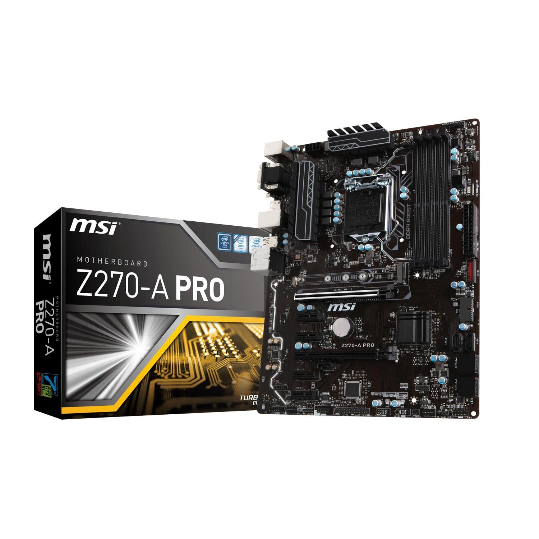 MSI Z270-A PRO ATX DDR4 - Carte mère MSI - Cybertek.fr - 0