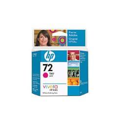 Cartouche n° 72 Magenta C9399A pour imprimante Jet d'encre HP - 0