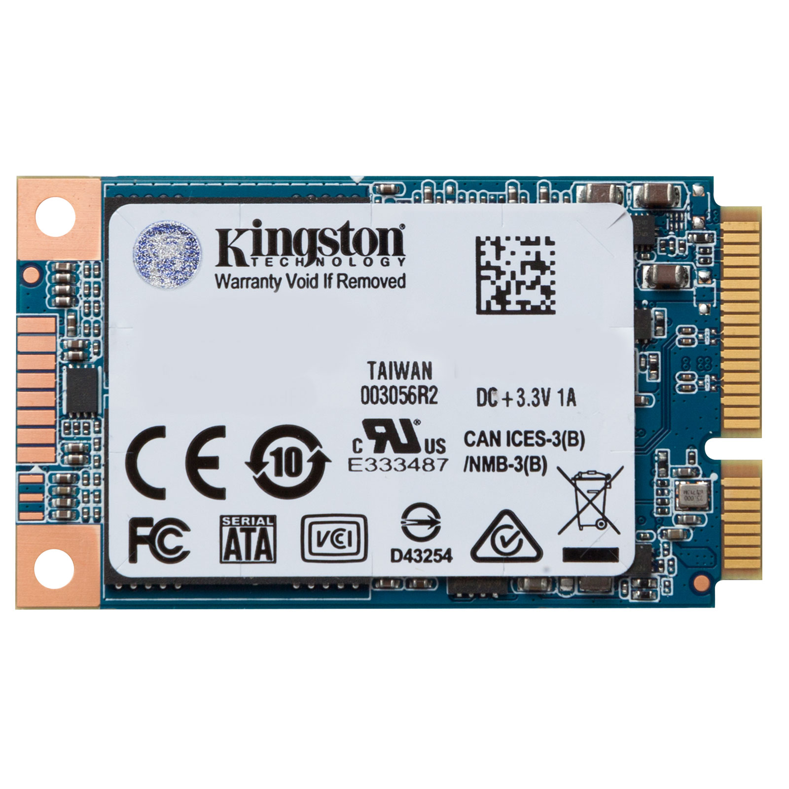 Kingston SUV500MS/240G mSATA  - Disque SSD Kingston - Cybertek.fr - 2