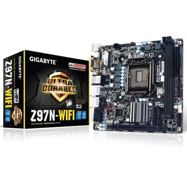Gigabyte Z97N-WiFi Mini-ITX DDR3 - Carte mère Gigabyte - 0