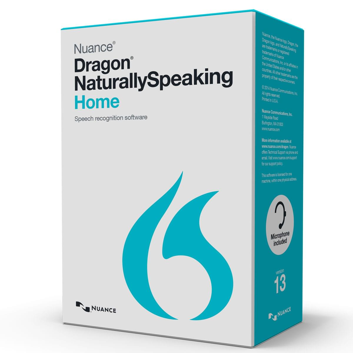 Nuance Dragon Naturally Speaking Home - Logiciel application - 0