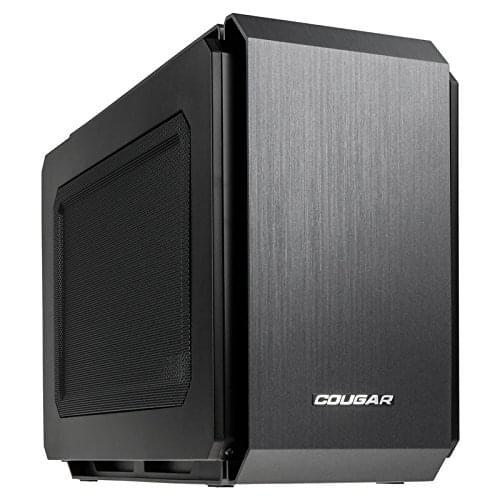 Cougar mT/Sans Alim/ITX Noir - Boîtier PC Cougar - Cybertek.fr - 0