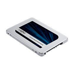 image produit Crucial 500Go SATA III - CT500MX500SSD1 - MX500  Cybertek