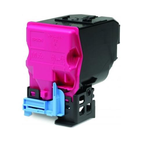 Toner Magenta C13S050591 6000p pour aculaser pour imprimante Laser Epson - 0