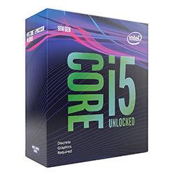 image produit Intel Core i5-9600KF - 3.7GHz/LGA1151(2017)/Ss Vent./BOX Cybertek