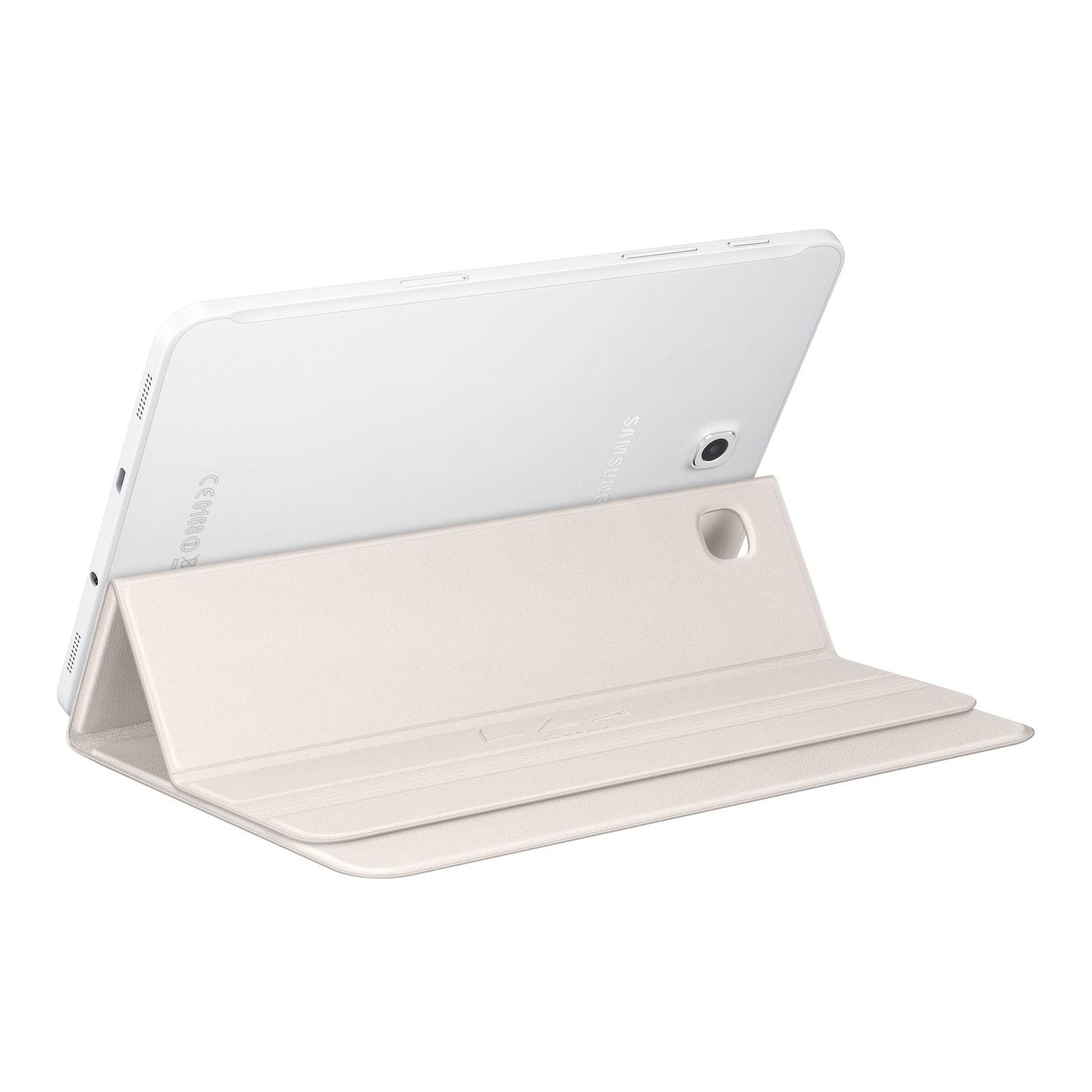 """Samsung Book cover blanc Galaxy Tab S2 8""""  (EF-BT710PWEGWW) - Achat / Vente Accessoire Tablette sur Cybertek.fr - 2"""