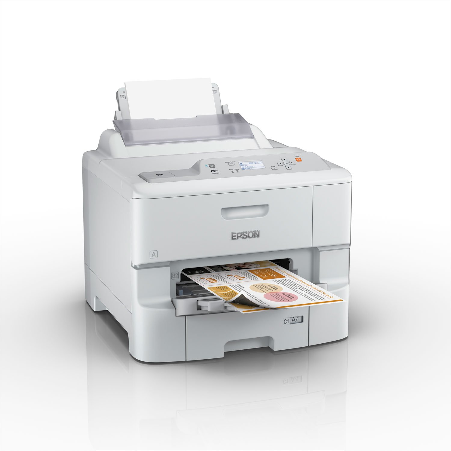 Epson WorkForce Pro WF-6090DW (C11CD47301) - Achat / Vente Imprimante sur Cybertek.fr - 2