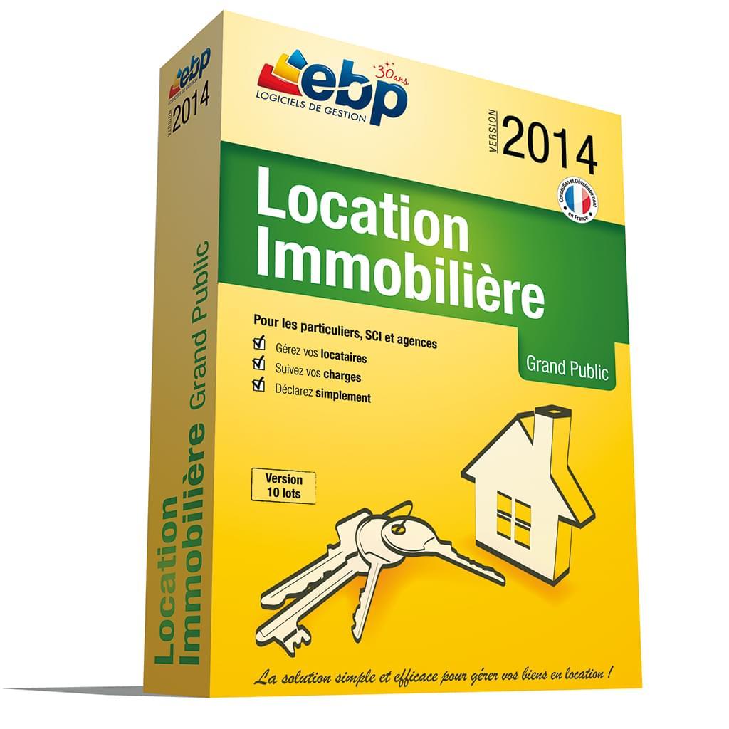 EBP Location Immobilière 2014 Version 50 lots (1053J060FAB) - Achat / Vente Logiciel Application sur Cybertek.fr - 0