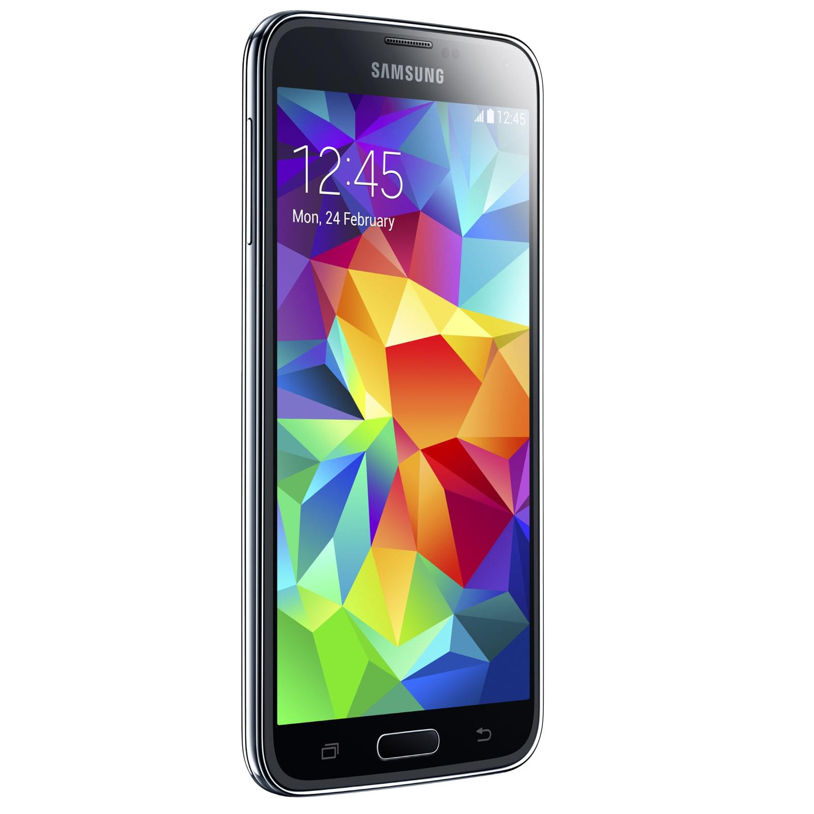 Samsung Galaxy S5 16Go Bleu G900F (SM-G900FZBAXEF) - Achat / Vente Téléphonie sur Cybertek.fr - 0